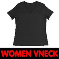 womens v neck mockup